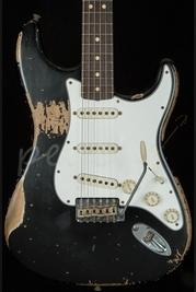 Fender Custom Shop 64 Super Heavy Relic Stratocaster Black Used
