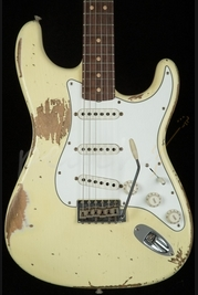 Fender Custom Shop 1964 Super Heavy Relic Strat Vintage White