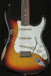 Fender Custom Shop 1964 Super Heavy Relic Strat Sunburst