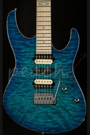 Suhr Modern Bahama Blue Angel Quilt - Handpicked top