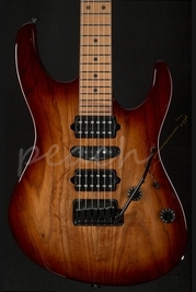 Suhr Modern Brown Burst - Roasted Body and Neck