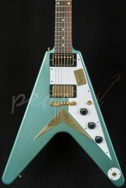 Gibson Custom 1959 Mahogany Flying V Aged Pelham Blue