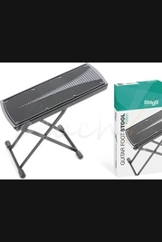 Stagg foldable and adjustable foot stool