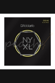 D'Addario - 9-46 NYXL Nickel Wound Super Light Top/Regular Bottom