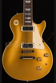 Gibson 2015 Les Paul Deluxe Electric Guitar - Metallic Gold Top