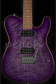 Suhr Classic T Trans Purple with Trans White Back