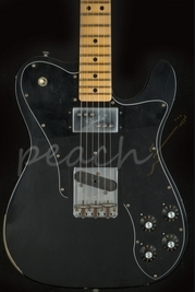 Fender Custom Shop 72 Tele Custom Relic Black Maple neck