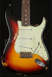 Fender Custom Shop 60 Heavy Relic Strat 3 Tone Sunburst