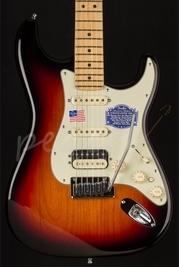 Fender American Deluxe Stratocaster HSS Shawbucker M/N 3-Color S/B