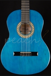 Stagg C542 TB Trans Blue Full Size Nylon String Guitar