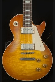 Gibson Custom 58 Plain Top Les Paul VOS Sunrise Teaburst
