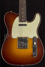 Fender Custom Shop 60' Custom Relic Tele - Chocolate 3 Tone Sunburst
