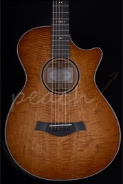 Taylor 12 Fret Grand Concert BTO Figured Mahogany