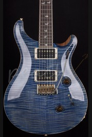 PRS Custom 24 Wood Library 30th Anniversary - Faded Blue Jean
