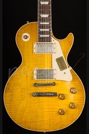 Gibson Custom 1958 Les Paul Plaintop VOS Handpicked - Lemon Burst