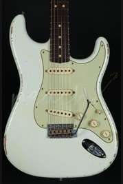 Fender Custom Shop 63' Relic Strat - Olympic White