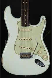 Fender Custom Shop 63' Relic Strat - Olympic White