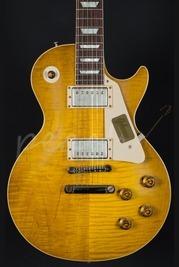 Gibson Custom 1958 Les Paul Plaintop VOS Handpicked - Lemon Burst  842384