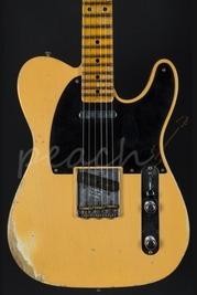 Fender Custom Shop 52' Relic Tele - Nocaster Blonde