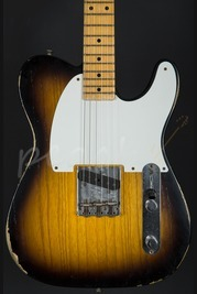 Fender Custom Shop Limited Edition 55' Relic Esquire - 2 Tone Sunburst