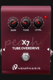 Nemphasis X7 Tube Overdrive Pedal