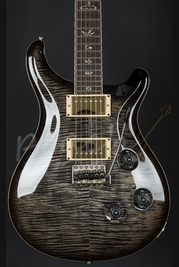PRS Custom 24 25th Anniversary Charcoalburst 10 top Used