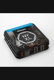 D'Addario EXL110 4 pack tin + free pack NYXL1046