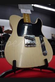 Fender Custom Shop Masterbuilt Yuri Shishkov 50's Tele Relic White Blonde