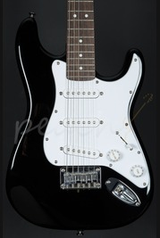 Squier Package Mini Black Strat and Amp Used