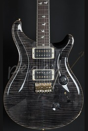 PRS Custom 24 30th Anniversary with Flame Maple Neck Grey Black