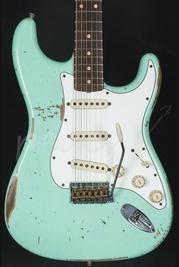 Fender Custom Shop '60 Strat Relic Surf Green