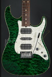 Tom Anderson Hollow Drop Top Classic Translucent Forest Green Used