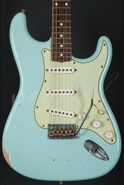 Fender Custom Shop 1960 Relic Strat Sonic Blue Used