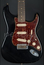 Fender Custom Shop 62 Relic Strat Black with Abby pickups
