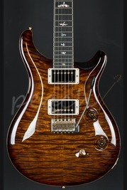 PRS Custom 24 58/15 Limited Edition Black Gold Pattern Thin