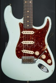 Fender Custom Shop 62 Relic Strat Pale Sonic Blue with Abby pickups