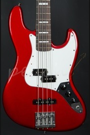 Fender Vintage Hot Rod 70's Jazz Bass Rosewood Candy Apple Red