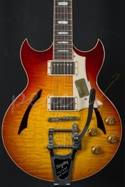 Gibson Custom Johnny A Standard w/ Bigsby - Bourbon Burst