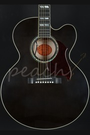 Gibson J-185 EC Hi-performance model - trans ebony