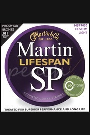 Martin 11-52 Lifespan Custom Light - Phosphor Bronze