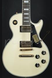 Gibson Custom 1974 Les Paul Custom Reissue VOS Classic Vintage White