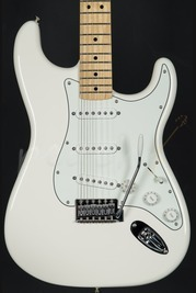 Fender Mex Standard Strat Arctic White Maple