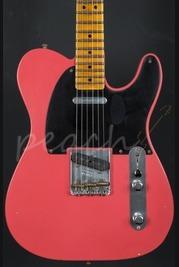 Fender Custom Shop 20th Anniversary Relic Nocaster Faded Fiesta Red