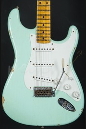 Fender Custom Shop Limited Edition 1955 Relic Strat Faded Surf Green