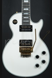 Gibson Custom Les Paul Axcess Custom w/Floyd Rose - Antique White