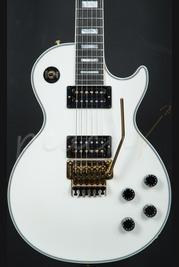 Gibson Custom Les Paul Axcess Custom w/Floyd Rose - Antique White