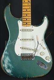 Fender Custom Shop Dale Wilson Masterbuilt 56 Strat Relic Sherwood Green