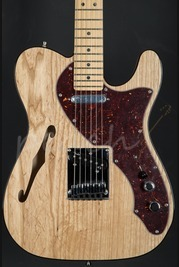 Fender American Deluxe Tele Thinline Maple neck Natural