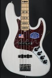 Fender American Deluxe Jazz Bass Maple Neck White Blonde