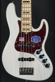 Fender American Deluxe Jazz Bass V Maple Neck White Blonde